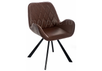Стул Woodville Winston CColl T-860-1 brown leather