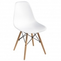 Стул пластик Woodville Eames PC-015 white